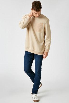 Koton Erkek Lacivert Jean Pantolon 0