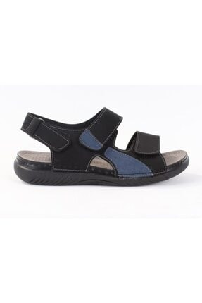 Polaris 160254.M Siyah Erkek Sandalet 100501000 1