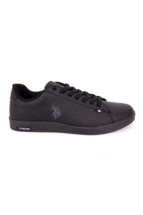 US Polo Assn FRANCO DHM Siyah Kadın Sneaker Ayakkabı 100548977 1