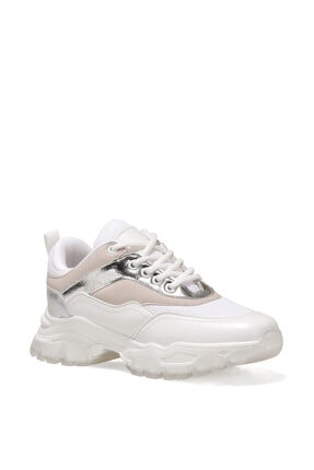 Nine West LISSOU 1FX Beyaz Kadın Sneaker 101028946 1
