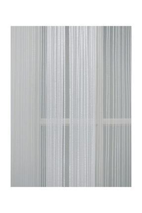 Esse Home Düz Çizgili Örme Tül Perde, 600x260, Normal Pile, 1/2.5 1