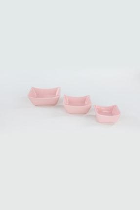 Keramika Açık Pembe Sandal Çerezlik / Sosluk 08-10-12 cm 6 adet 1