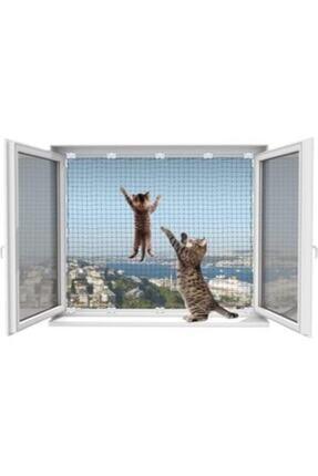 WINBLOCK Pets-kedi Güvenlik Ağ Koruma Sistemi- 2'li Tek Kanat Pencere Için Ekonomik Kutu-beyaz Çerçeve Için 0