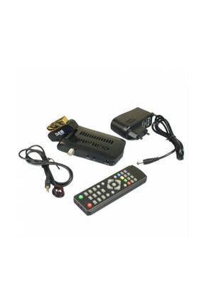 Millenium Scart Girişli Tüplü Tv Uyumlu Mini Uydu Alıcısı Kanalları Hazır Yüklü 0