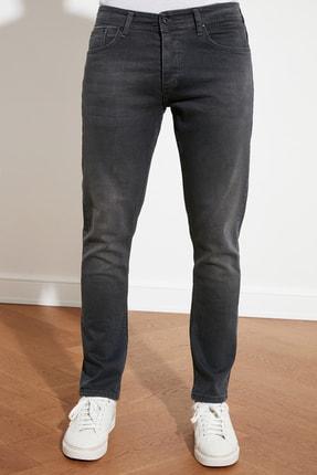 TRENDYOL MAN Antrasit Erkek Slim Fit Jeans TMNSS21JE0068 4