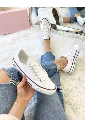ELSESHOES Unısex Beyaz Spor Ayakkabı 1