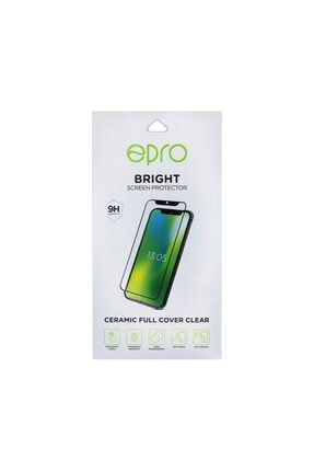 EPRO Huawei P30 Lite Siyah Seramik Nano Ekran Koruyucu Tam Kaplayan Kırılmaz Esnek Cam 4
