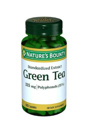 Natures Bounty Green Tea Extract 315 Mg 60 Kapsül 0