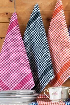 Binnur Home Elegance 8 Adet 4 Renk 50x70 Mutfak Kurulama Bezi Bulaşık Kurulama Bezi 4