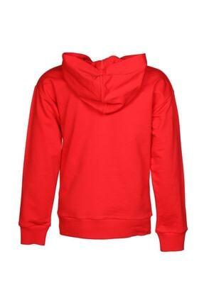 HUMMEL Kadın Kırmızı Camelıano Sweatshırt 2