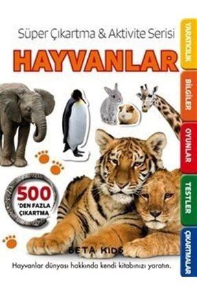Beta Yayınları Süper Çıkartma Aktivite Serisi - Hayvanlar 0