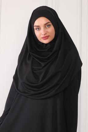 ASLINUR GİYİM Kadın Siyah Namaz Elbisesi Na545maz475825 1