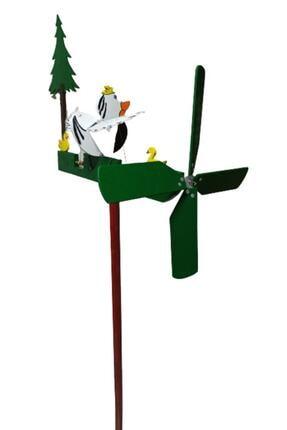 Rüzgaristan Ahşap Rüzgar Gülü Kısa Boyun Ördek 1