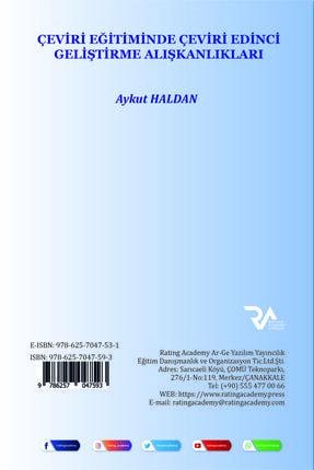Rating Academy Yayınları Çeviri Eğitiminde Çeviri Edinci Geliştirme Alışkanlıkları 1