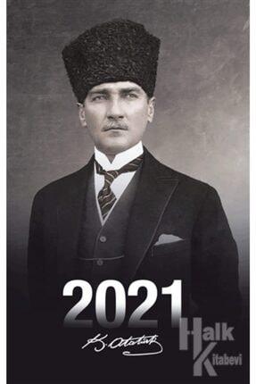 Halk Kitabevi 2021 Atatürk Ajandası Kalpaklı 1