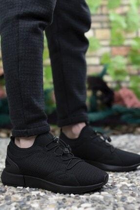 Riccon Erkek Siyah Sneaker 00121925 1