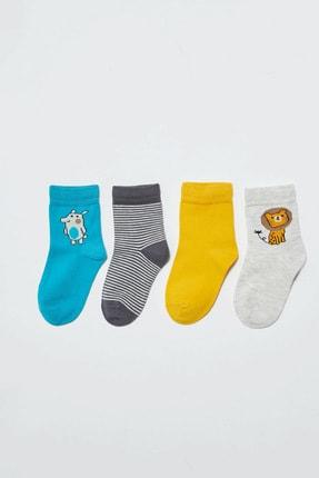 LC Waikiki Erkek Bebek Kar Melanj 847 Çorap 1