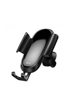 Baseus Siyah Future Gravity Serisi Cam Yüzey Araç İçi Havalandırma Telefon Tutucu 1