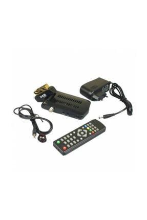 UZYELK Mini Sd Uydu Alıcısı Kanalları Hazır Yüklü Tak Kullan Scart 0