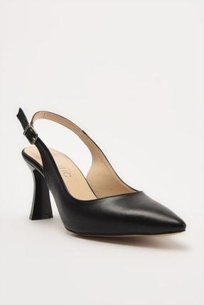 Hotiç Siyah Kadın Klasik Topuklu Ayakkabı 01AYH214420A100 1