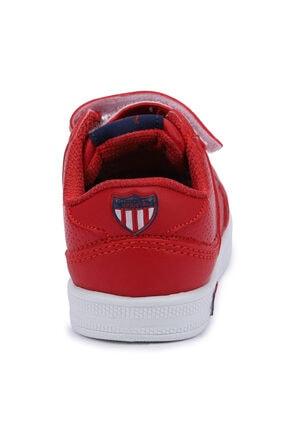 US Polo Assn CAMERON 1FX Kırmızı Erkek Çocuk Sneaker 100909777 4