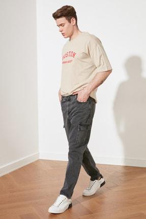 Picture of Antrasit Erkek Relax Kargo Jeans TMNSS21JE0547