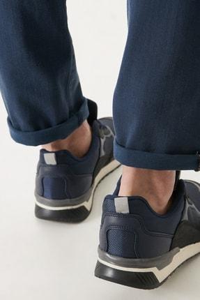 Altınyıldız Classics Erkek Lacivert Casual Spor Sneaker Ayakkabı 2