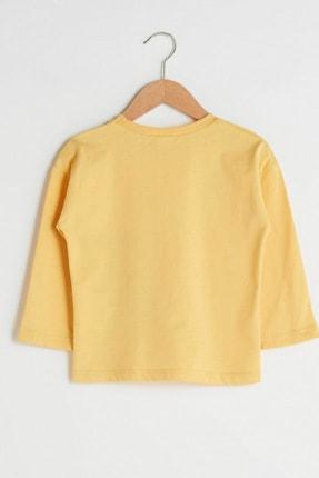 LC Waikiki Erkek Bebek Pastel Sarı Fyr T-Shirt 1