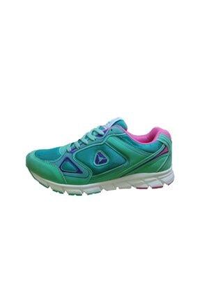 LETOON 4200 Su Yeşili Kadın Spor Ayakkabı 0