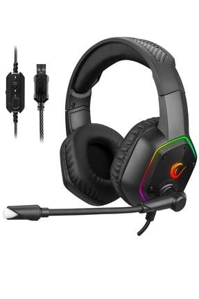 Rampage Rm-k33 Tracer 7,1 Rgb Gaming Oyuncu Mikrofonlu Kulaklık 0