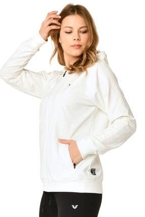 bilcee Beyaz Kadın Eşofman Takımı Hs-8793 1