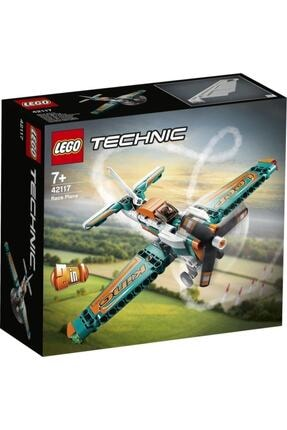 LEGO ® Technic Yarış Uçağı 42117 - Çocuklar için Oyuncak Uçak Yapım Seti 154 Parça 0