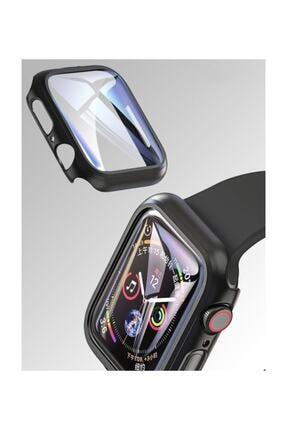 Dijimedia Apple Watch Series 4-5 44mm 360 Derece Koruma+kırılmaz Cam 4