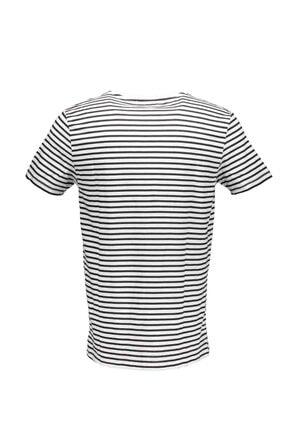 Collezione Siyah Erkek Yeşil Spor Regular Kısa Kol T-shirt 1