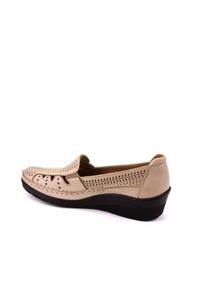 Forelli Kadın Bej Comfort Ayakkabı 26202 2