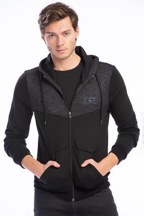 Lee Cooper Erkek Twopart Kapüşonlu Sweatshirt 191 Lcm 241050 0