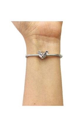 My Story Işıltılı Aslan Prenses Gümüş Charm 0