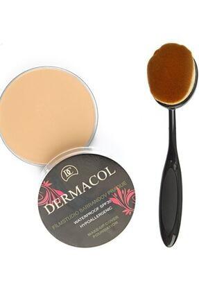 Dermacol Make-up Cover Fondöten Kapatıcı Pata Krem + Fırça 209 0
