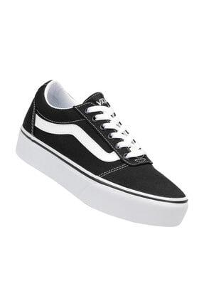 Vans Wm Ward Platform Siyah BEYAZ Kadın Ayakkabı 100394210 1