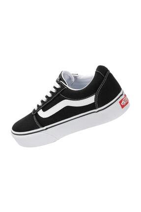 Vans Wm Ward Platform Siyah BEYAZ Kadın Ayakkabı 100394210 3