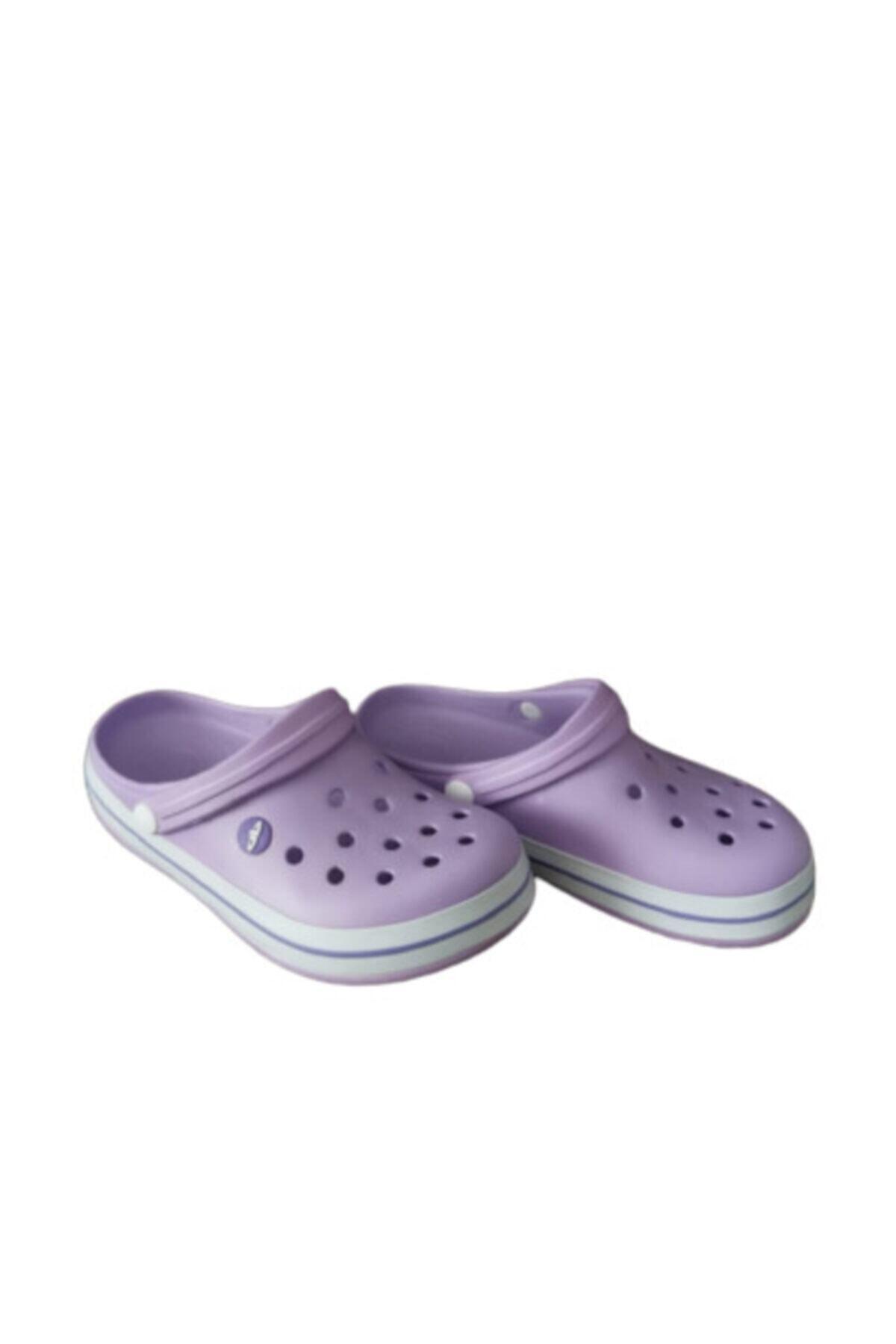 Akınalbella Kız Çocuk Lila Crocs Terlik