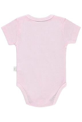 Civil Baby Unisex Bebek Pembe Bisiklet Yaka Çıtçıtlı Body 1