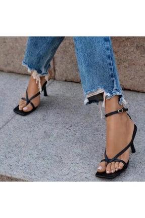Giydim Gidiyor Jen Topuklu Sandalet 1