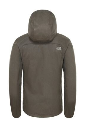 The North Face Quest Hooded Softshell Outdoor Erkek Mont Haki 1