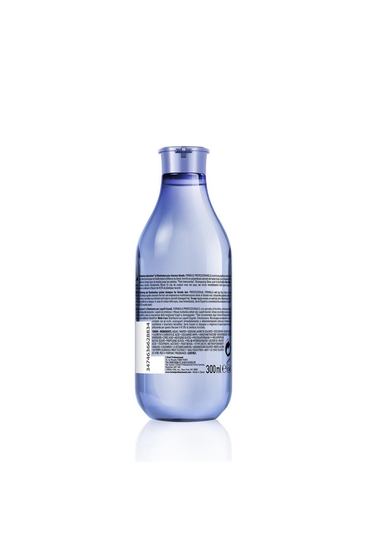 L'oreal Professionnel Serie Expert Blondifier Sarı Saçlara Özel Parlaklık Şampuanı 300 ml 2