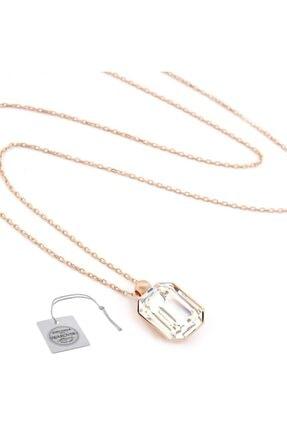 Swarovski Türker Jewelry Swr0068 Zirkonia Taşlı Bayan Kolye 1