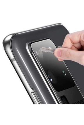 Samsung Galaxy S20 Ultra Uyumlu Kamera Lens Koruyucu Hd Ince Yüksek Kalite Cam Filmi 1