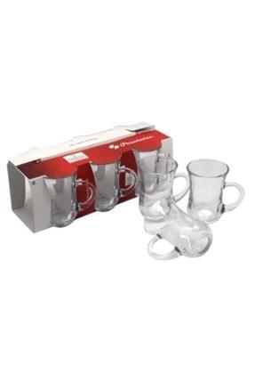 Paşabahçe Keyif Sade Çay Bardağı Kutulu 6 Lı 0