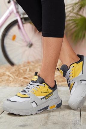 Dark Seer Füme Sarı Unisex Sneaker 4