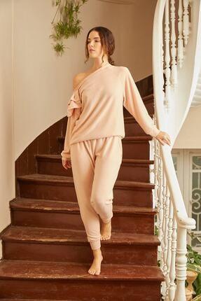 Louren H115 Kayık Yaka Ev Kıyafeti 0